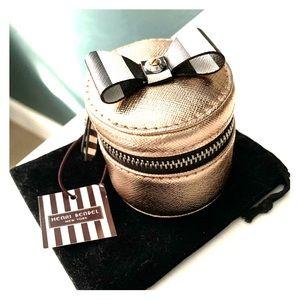 Limited Rose Gold Henri Bendel MINI RING BOX